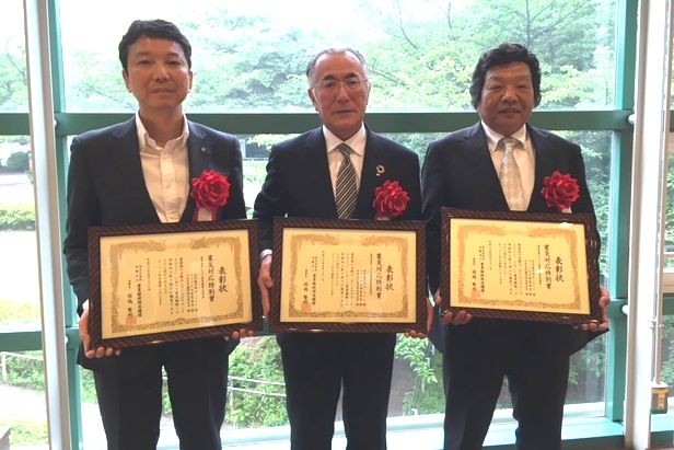 Co-op Kumamoto, Co-op Kyushu, in a joint name of JCCU received BCAO Award 2017