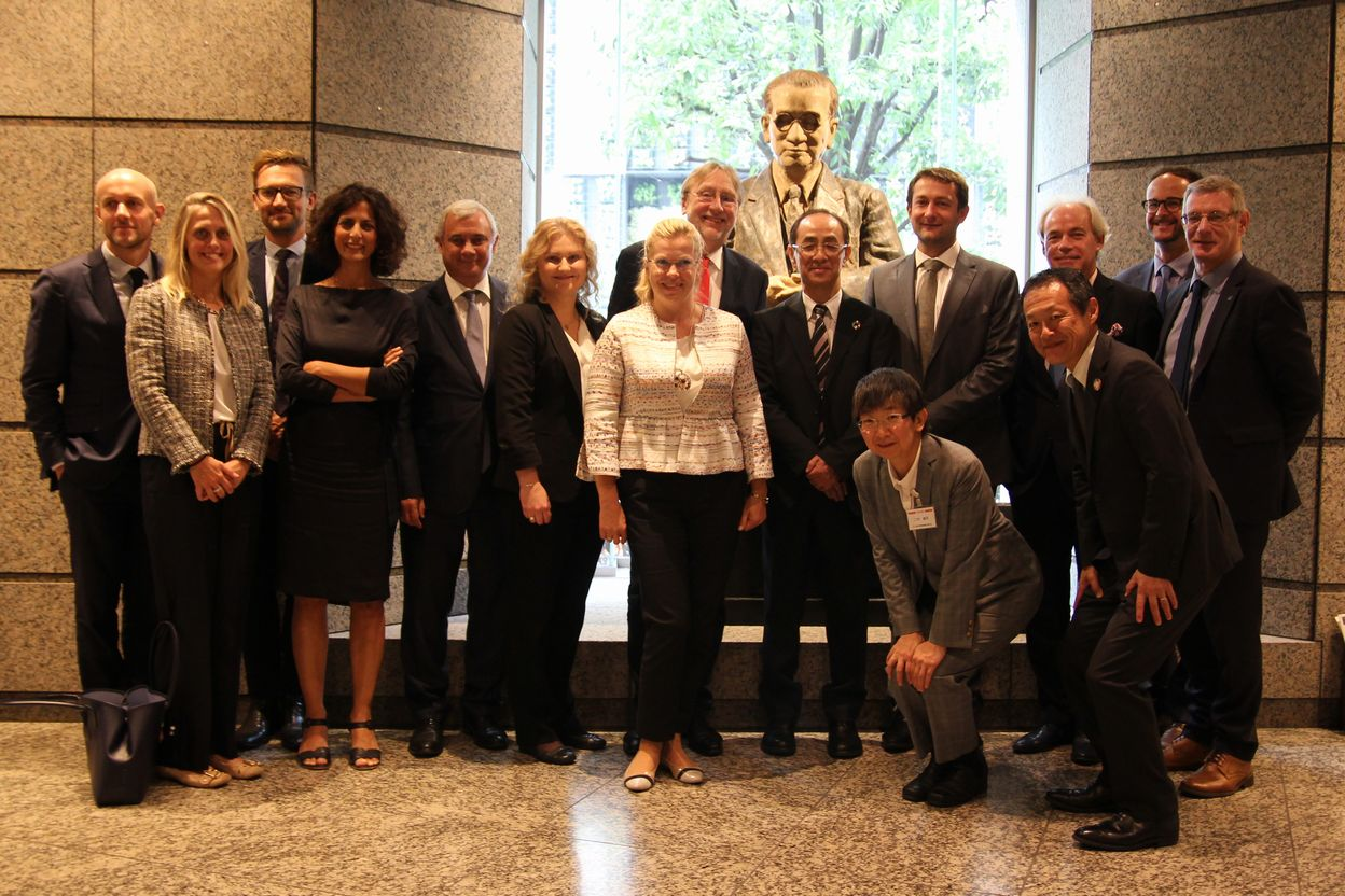 Delegation of European Parliament Committee on International Trade paid a courtesy visit to Japan