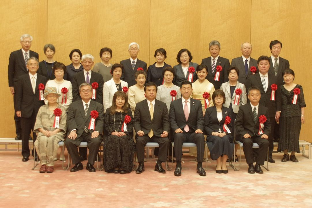 Hokkaido Consumers' Co-operative Union and FCO・OP Consumer Co-operative received Minister of State for Special Mission Commendation Award