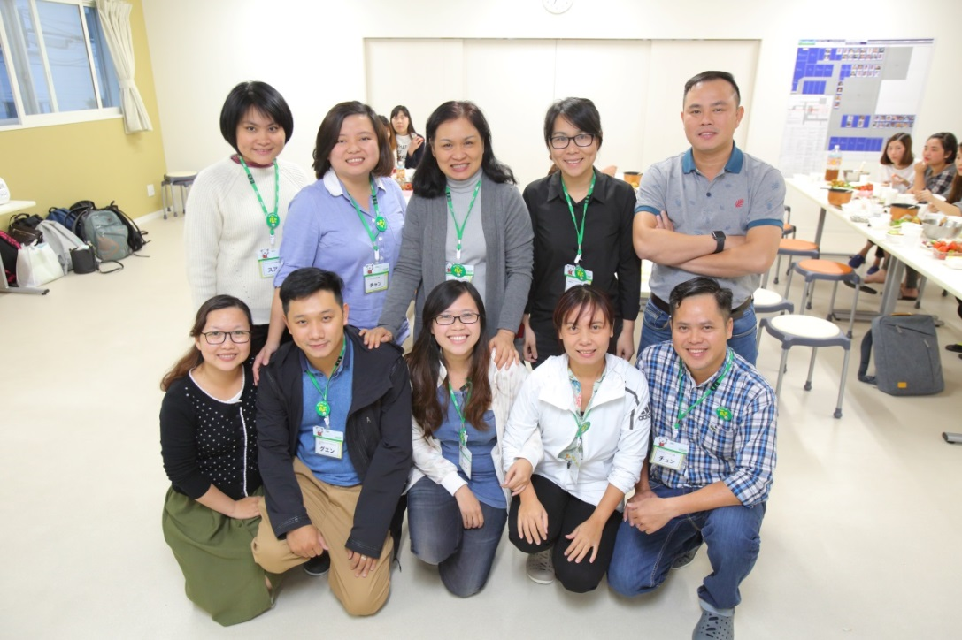 A two-week study tour by staff delegates from Saigon Co-op in Vietnam to Co-op Sapporo