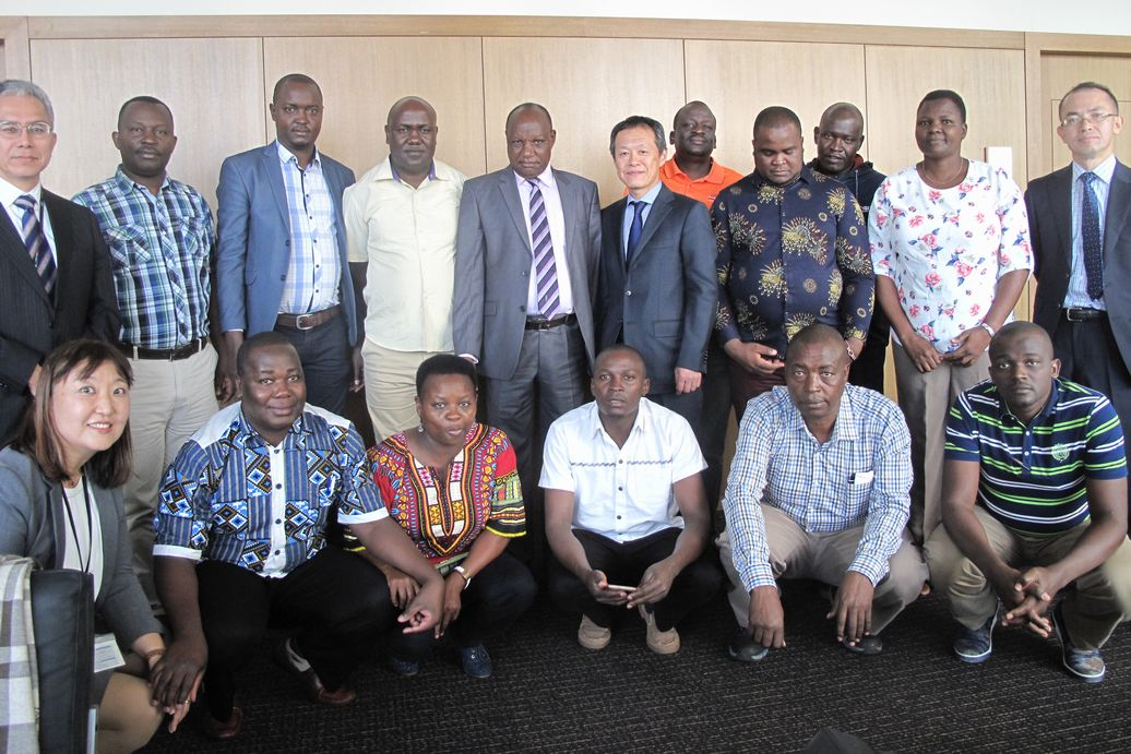 Delegation from the Co-operative Alliance of Kenya visited Co-ops in Japan