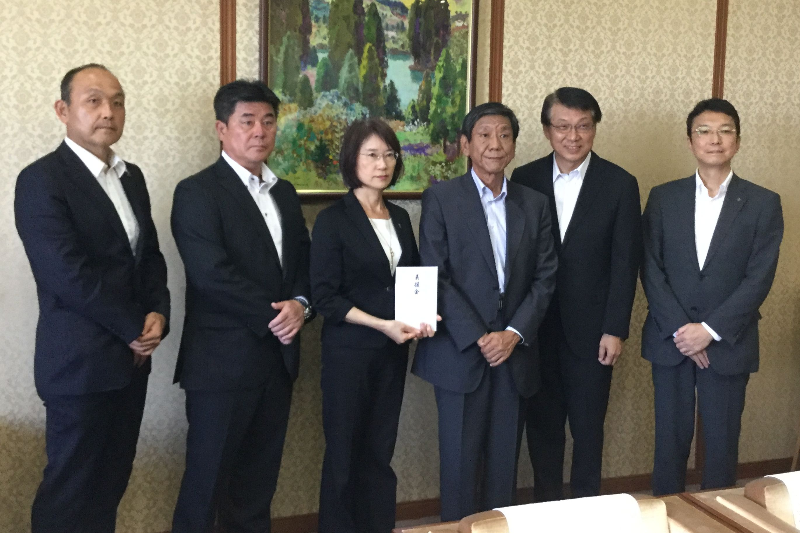 Co-op donates to victims of rain disaster in Fukuoka and Oita prefectures