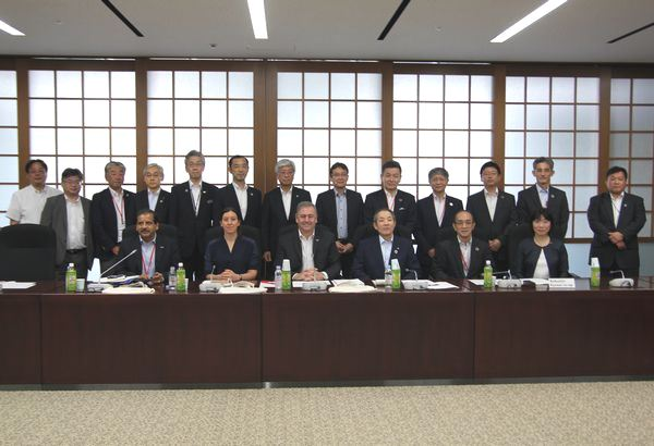 The President of International Cooperative Alliance (ICA) visits Japan