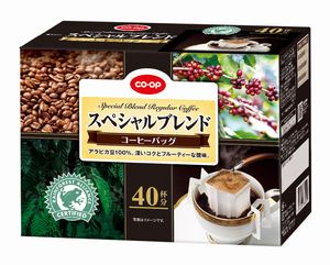 new release: CO·OP special blend coffee bag