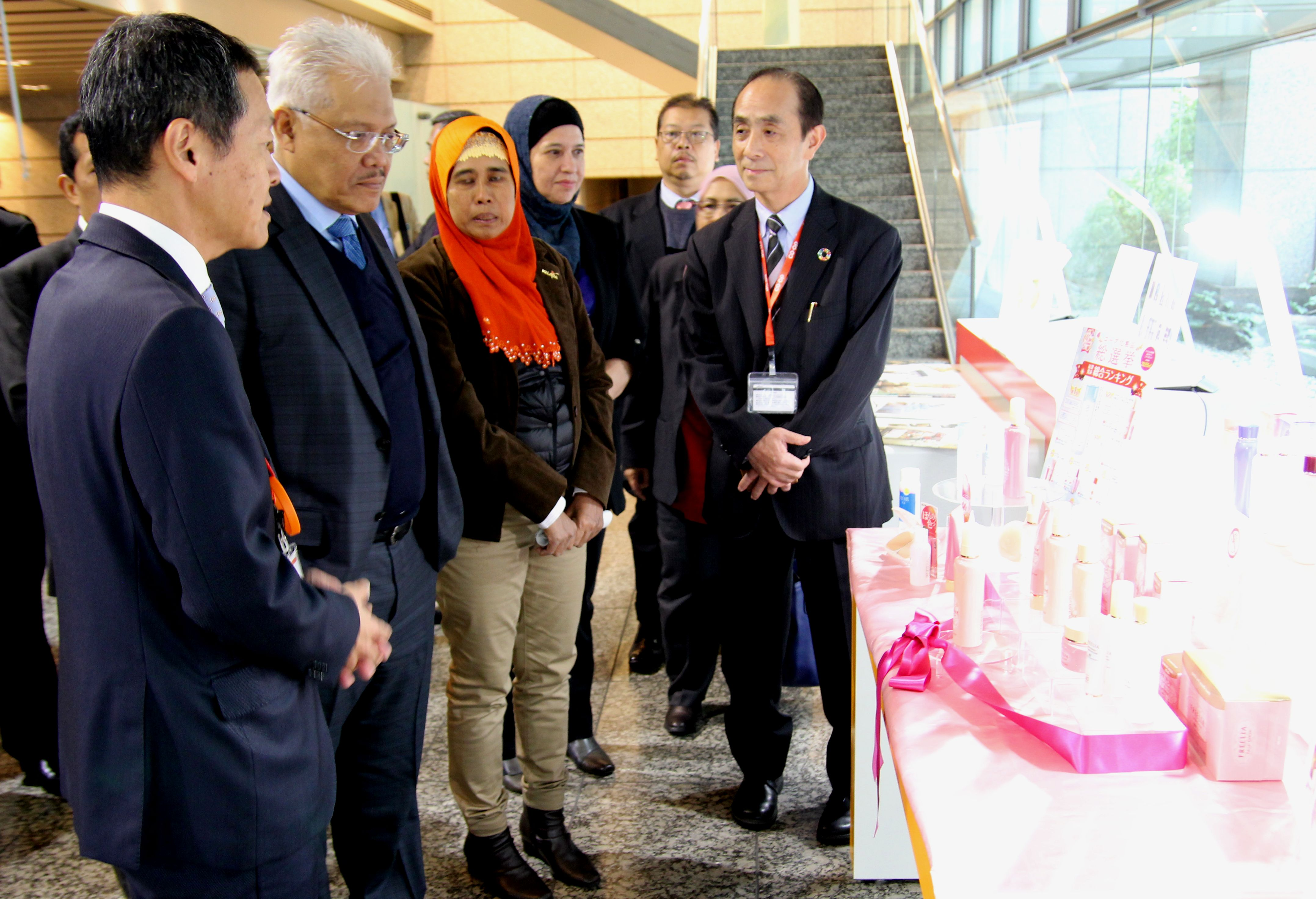 Malaysia Minister's inspection group visited JCCU