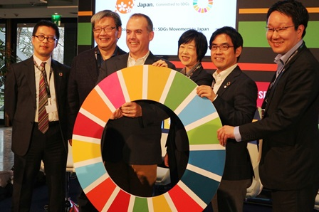 Pal system introduced activities in the United Nations SDGs event in Bonn, Germany