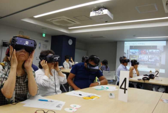 Tokyo Consumers' Co-operative Union held Dementia Virtual Reality (VR) Experience Course